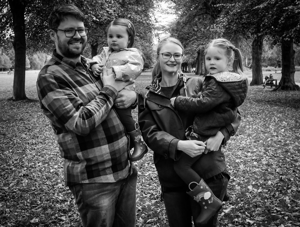 Family photoshoot Cheshire
